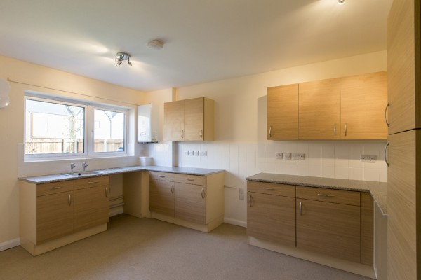 Ruskington Housing Finished Kitchen
